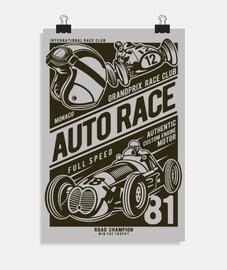 course automobile