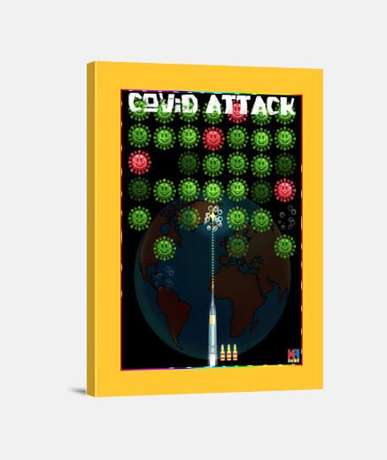 covid attack