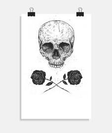 crâne n 39roses