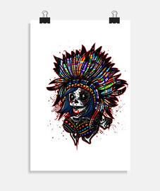 cráneo indio