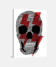 Cráneo rayos de poder