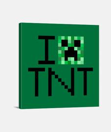 creeper i aime minecraft tnt