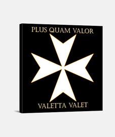 croix de l'ordre de saint-jean de malte (v
