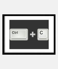 ctrl c (copy, copy)