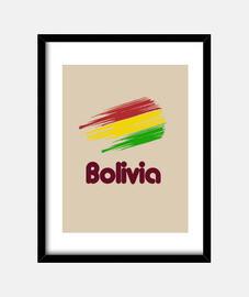 Cuadro Bandera de Bolivia