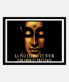 Cuadro Buda La paz