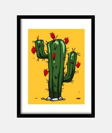 Cuadro Cactus Rompecorazones