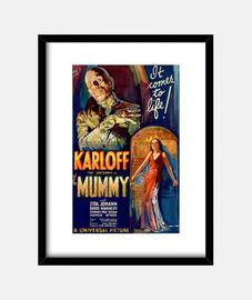 Cuadro con Cartel de la Película La Momia de 1932