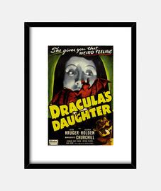 Cuadro con Cartel La Hija de Drácula de 1936