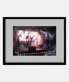 Cuadro con marco horizontal 4:3 (40 x 30 cm)