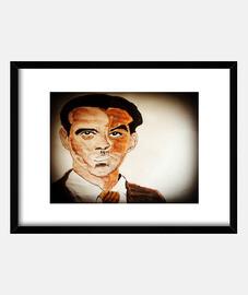 Cuadro con marco horizontal Lorca.