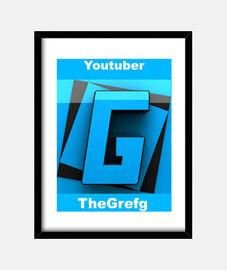 Cuadro con marco vertical 3:4 (30 x 40 cm) The Grefg