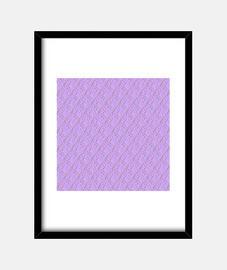 Cuadro con marco vertical 3:4 (30 x 40 cm),lilac kisses pattern