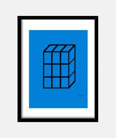 Cuadro Cubo