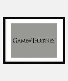 Cuadro horizontal Juego de tronos