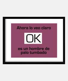 Cuadro Humor OK