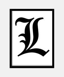 Cuadro Increible Nueva 2016 L Death Note