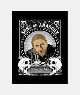 Cuadro Jax Teller - Sons of Anarchy