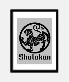 Cuadro Karate Shotokan Emblema
