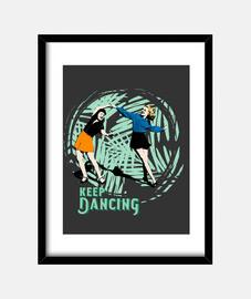 cuadro keep dancing