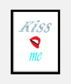 Cuadro Kiss me