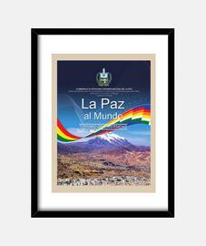 Cuadro La Paz al mundo