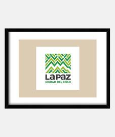 Cuadro La Paz ciudad del cielo