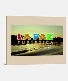 Cuadro La Paz turistica