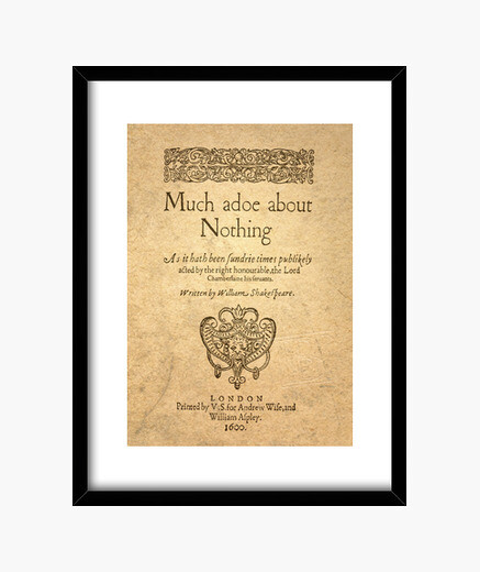 Cuadro Much Ado About Nothing (prints)