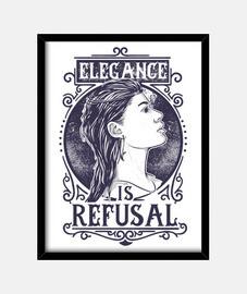 Cuadro Retro Elegance is Refusal Vintage