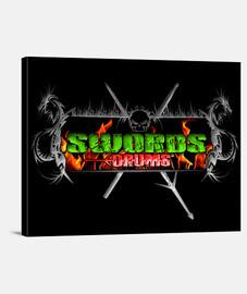 Cuadro SwordsDrums