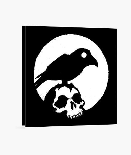 Lienzo cuervo