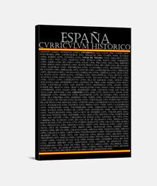 Curriculum Histórico de España (Blanco)