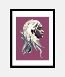 Daenerys  Khalessi Cuadro