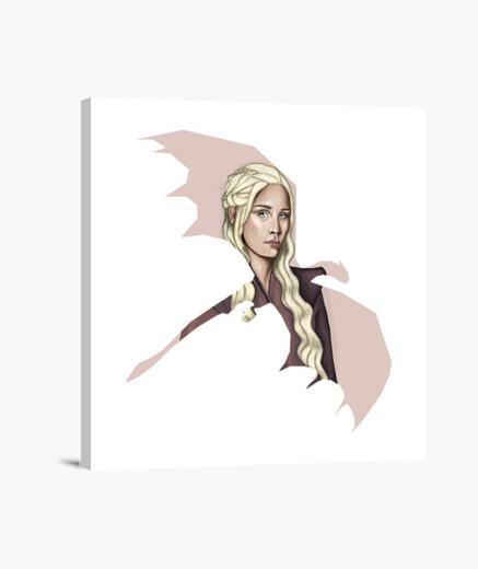 Lienzo Daenerys Targaryen Dragon Mother