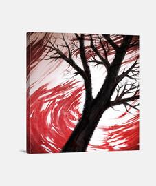 Dark Red & Red Clouds