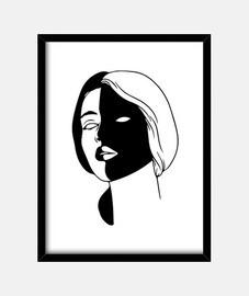 Dark side Woman
