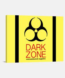 Dark Zone Lienzo Horizontal 4:3 - (40 x 30 cm)