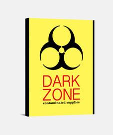 Dark Zone Lienzo Vertical 3:4 - (30 x 40 cm)