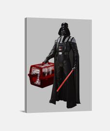 Darth Vader star wars transpontin at at Lienzo Vertical 3:4 - (30 x 40 cm)