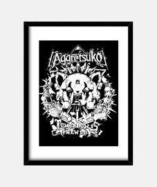 Death Metal Panda Aggretsuko