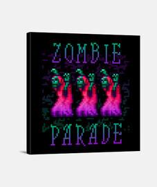 défilé de zombies