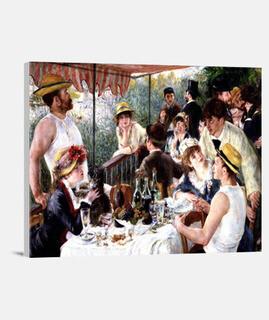 déjeuner de les  fête  de canotage (1880-1881)