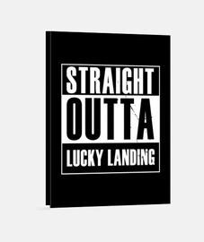 derecho de aterrizaje afortunado