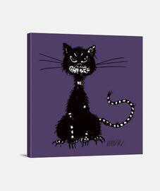 desigual del gato negro del mal