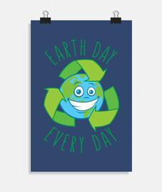 Día de la Tierra cada día reciclamos di