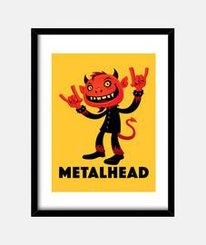diablo metal pesado metalero