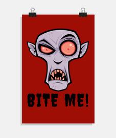 Dibujos animados de vampiro espeluznant