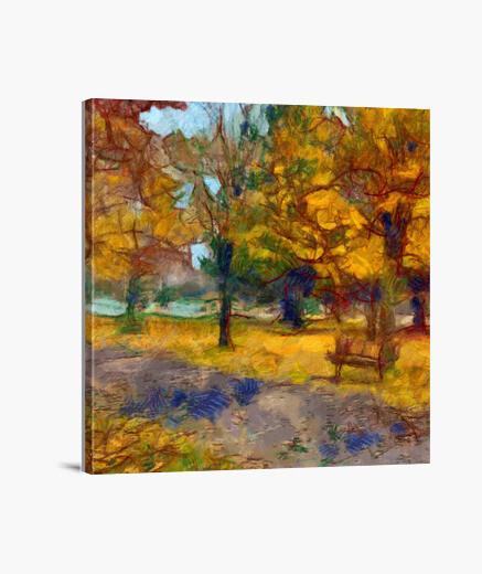 Stampa Su Tela Dipinto Di Paesaggio 2053407 Tostadorait
