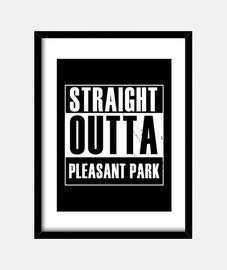 directamente de un parque agradable